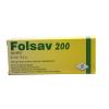 FOLSAV 200 TABLETTA 60DB